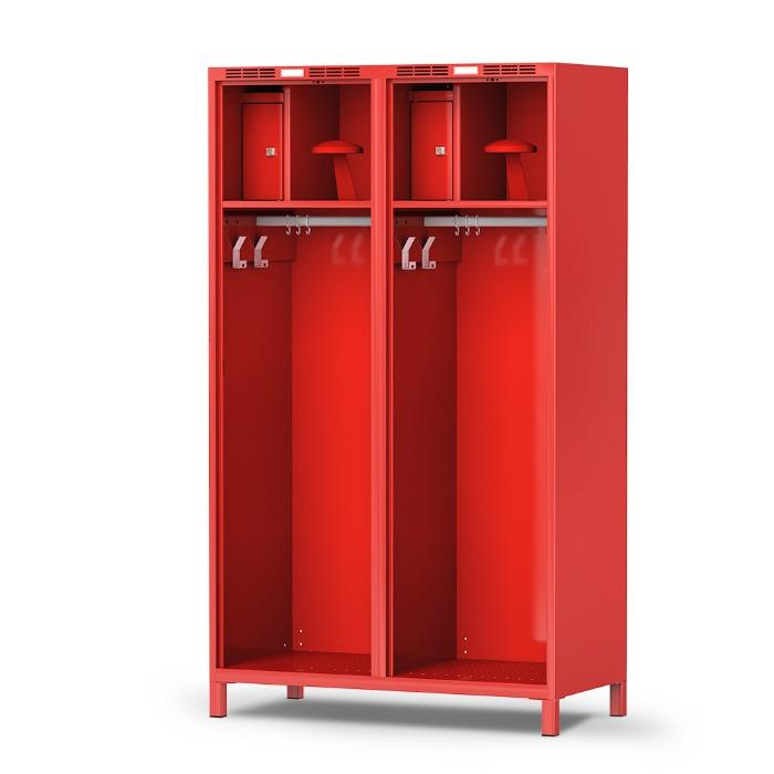 Gear locker PROFI - spacious compartments and clever details - with 1 or 2 compartments