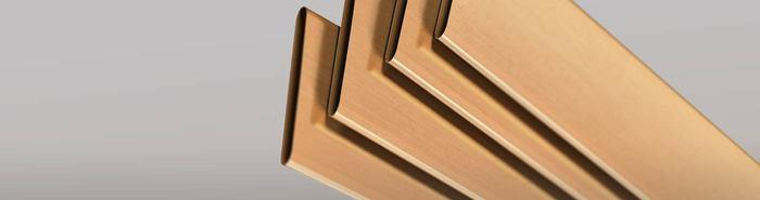 Brass radiator tubes -