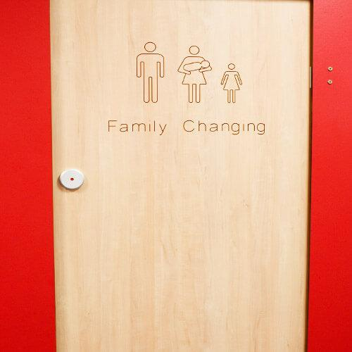 Changing Room Cubicles -