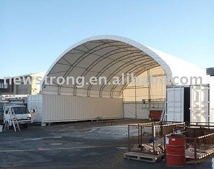 Portable Shipping Container Shelter - null