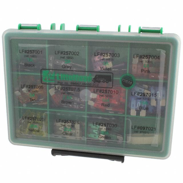 FUSE KIT AUTO 2-30A 100PC - Littelfuse Inc. 00940957XXN