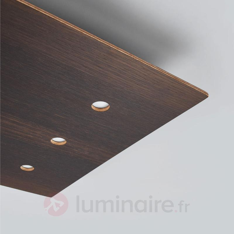 Plafonnier variable Juri en bois - Plafonniers en bois