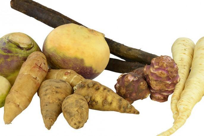Old varieties of vegetables