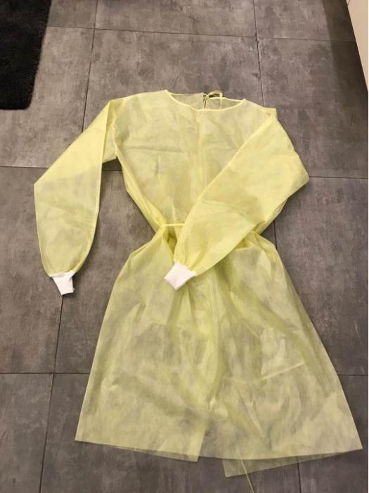 PP Surblouse Non Stérile isolation gown jetable robe - PP Surblouse Non Stérile isolation gown jetable robe