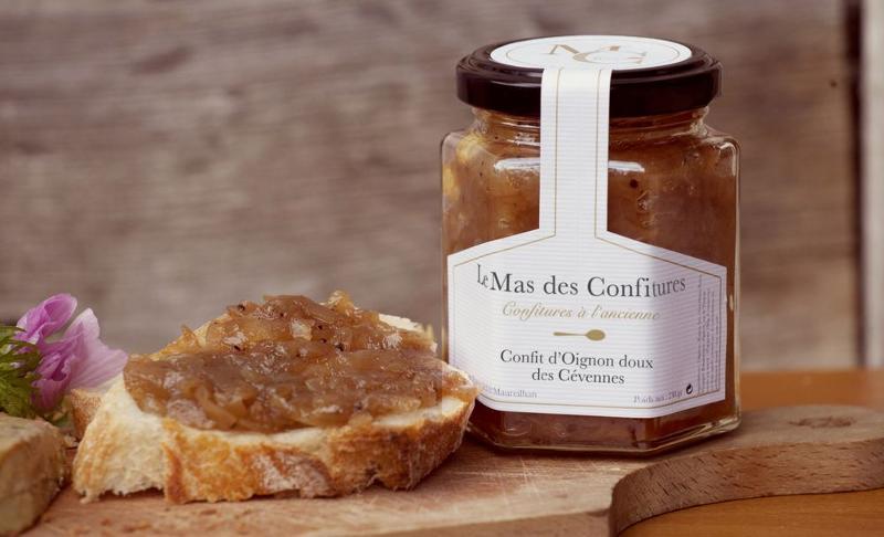 Confit d'Oignon doux des Cévennes 45g - Epicerie salée
