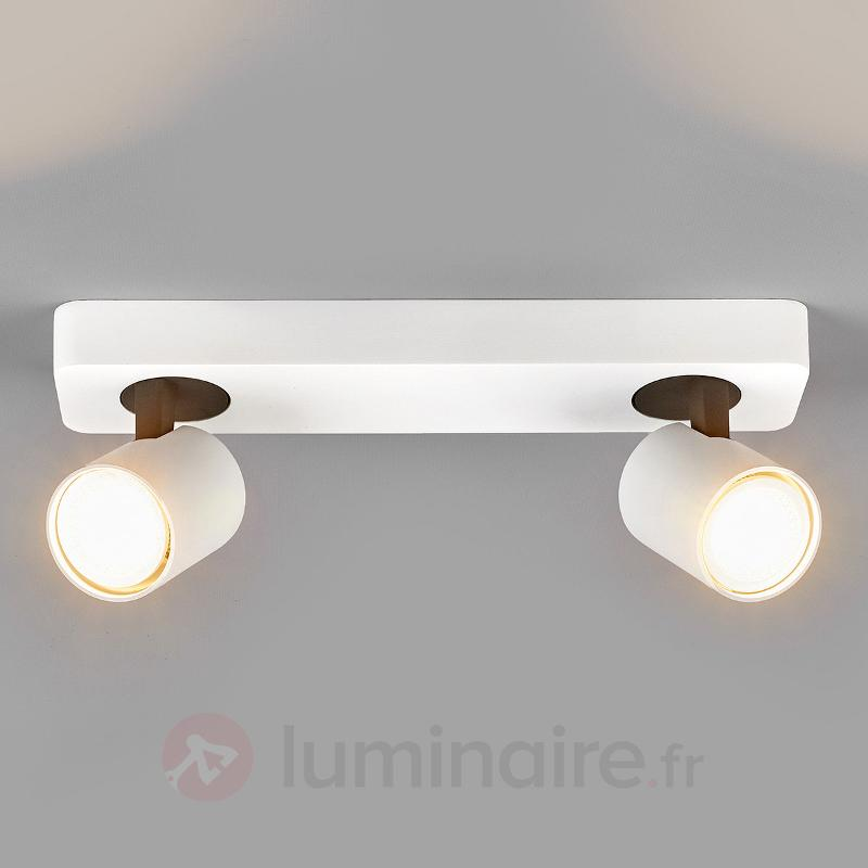 Sean - spot LED GU10 à deux lampes - Appliques LED
