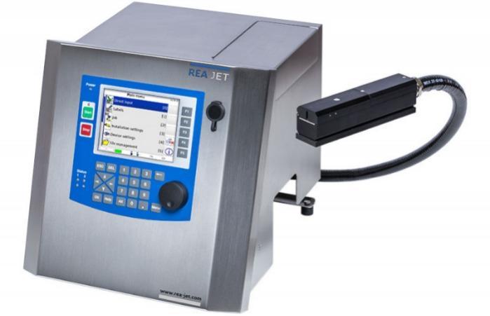 Imprimante à jet d'encre SC - REA JET SC 2.0 - marquage des surfaces lisses comme les films, les plastiques et les métaux