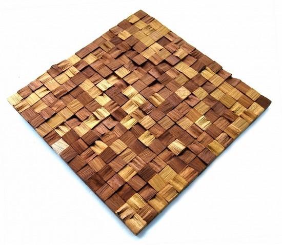 Natural Wood Mosaic Panels - You have many reasons to prefer
