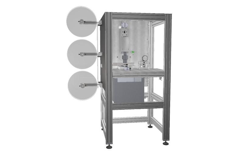 Ultrasonic die-cutting machine - Ultrasonic welding machines