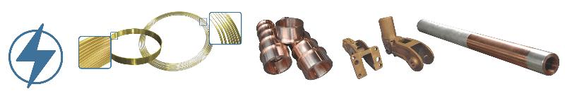 Slip ring, circuit breakers ring, electrical connection,... - Rough or fully machined centrifugal & sand castings for electric industry