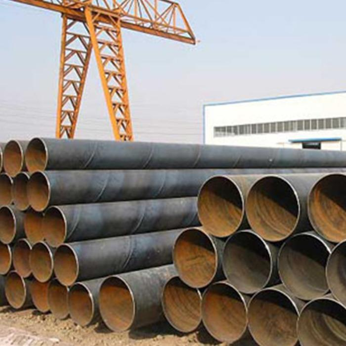 SSAW DN600 X 6000mm ST600 steel pipe - SSAW DN600 X 6000mm ST600 steel pipe for dewatering system with slip-on flange