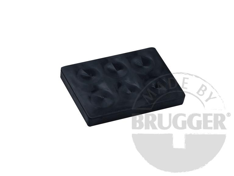 Magnet assembly, NdFeB, rubber coat black, with... - null