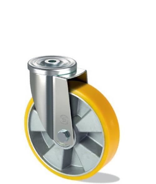 Ruota in poliuretano con nucleo in alluminio -