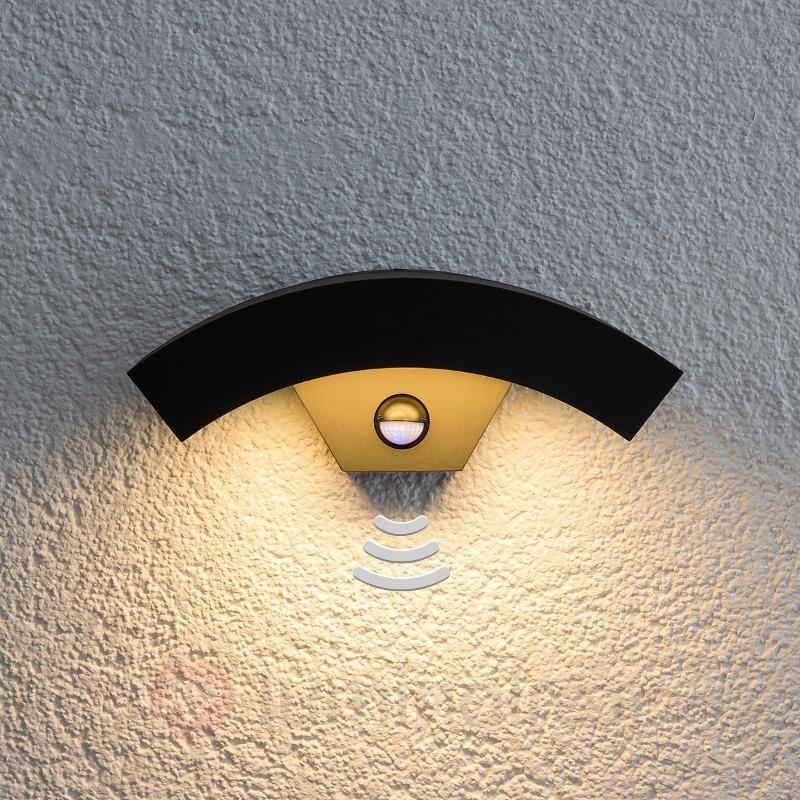 Lennik - Applique extérieure LED à détecteur - Appliques d'extérieur avec détecteur