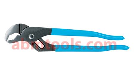 Water Pump Pliers - Channel Type - They have serrated jaws generally set 45– to 60-degrees from the handles.