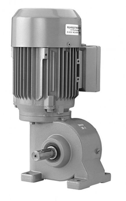 SN8SV - Einstufiger Getriebemotor mit Ausgangswelle