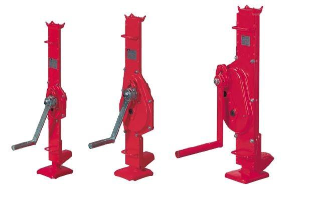 Rack jack 1188 - Rack jack for lifting loads of all kinds. Load range from 1.5 to 10 t.