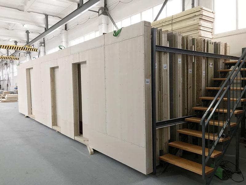 Производство каркасно-панельных домов в Беларуси - Manufacture of timber frame-panel houses in Belarus