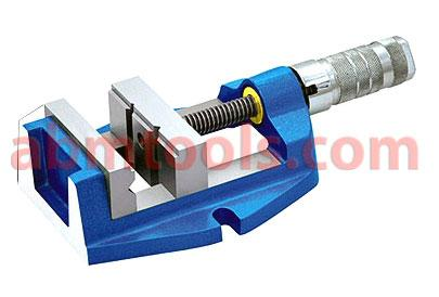 Quick Acting Vise - Quick acting vises is spring loaded for quick holding work pieces.