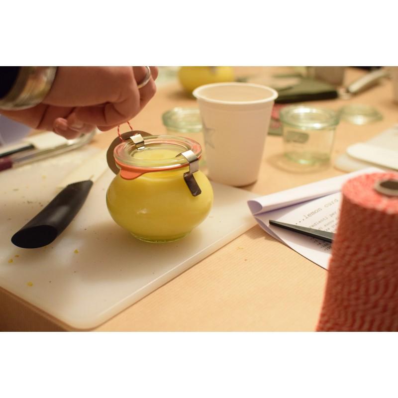 WECK FÊTE® Glazen - 12 potten in glas WECK Fête® 220 ml met deksels in glas en verbindingsstukken