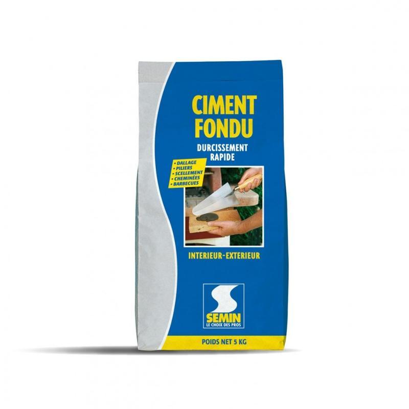 CIMENT FONDU - Ciment fondu