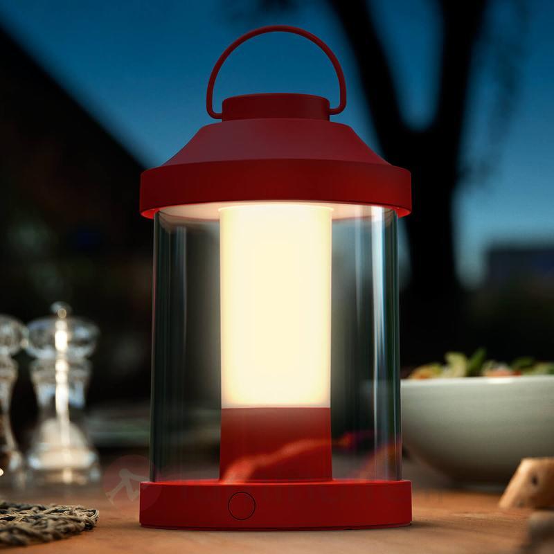 Lanterne LED fonctionnelle Abelia - Lampes décoratives d'extérieur