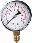 Standard pressure gauge pressure line G 1/8, 0 - 16... - Standard pressure gauge, connection radial on bottom