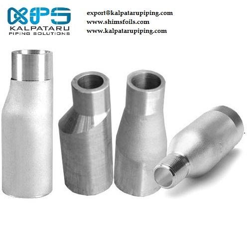 Nickel 201 Eccentric Swage Nipple - Nickel 201 Eccentric Swage Nipple