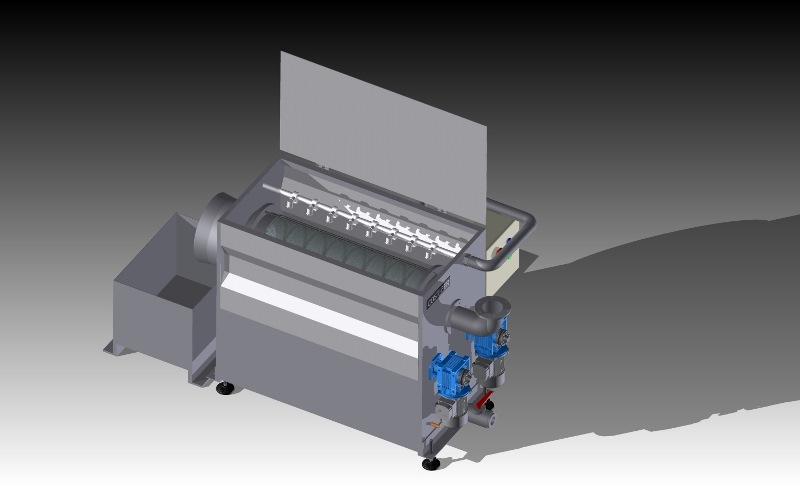 Filtro rotante autopulente FR-25