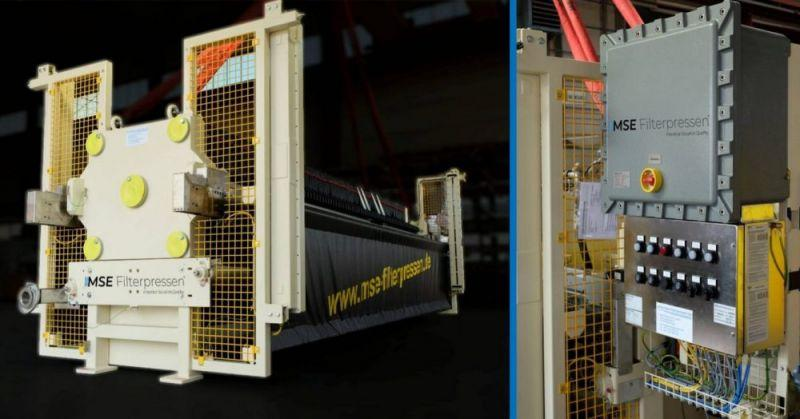 ATEX filter press - The ATEX filter press - Maximum explosion protection for explosive areas