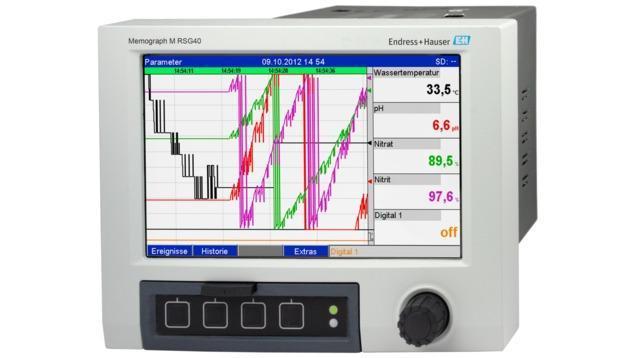 composants systeme enregistreur datamanager - enregistreur sanspapier memograph M RSG40