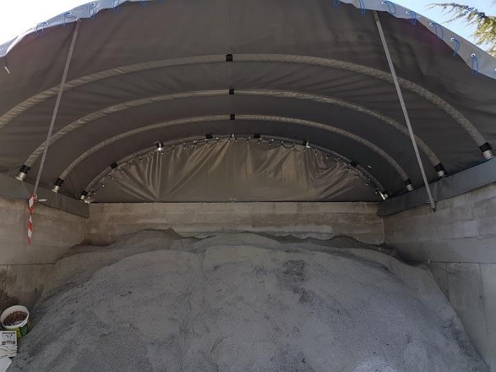 Cubierta para sal/arena - null