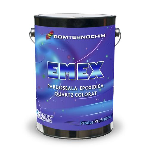 Pardoseala Epoxidica Decorativa cu Cuartz Colorat EMEX QUART