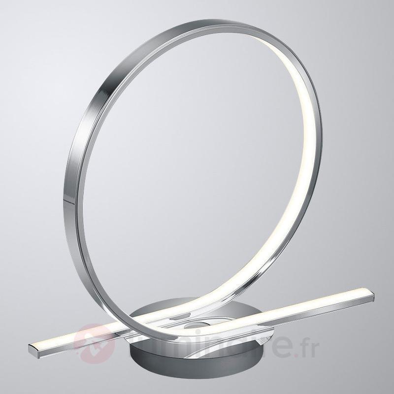 Lampe à poser LED Catoki en forme de boucle - Lampes à poser LED