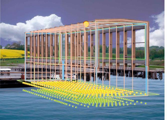 Cage-Type Entmagnetisierungs und Vermessungsanlage - CDMR - Magnetische Entmagnetisierung und Vermessung stationärer Schiffe und U-Boote