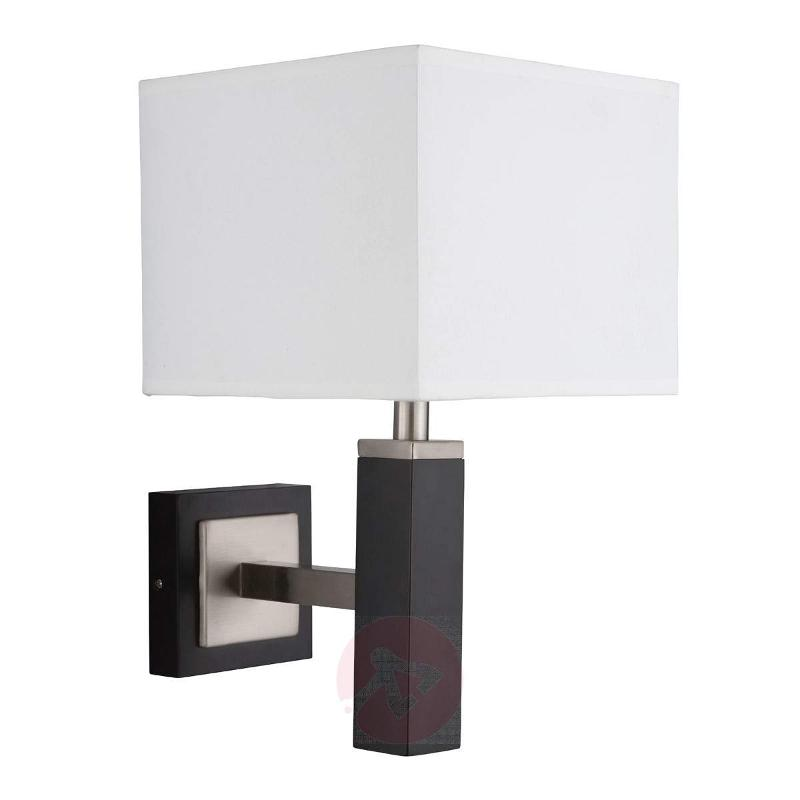 WAVERLEY - wall light with white lampshade - Wall Lights