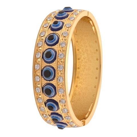Fashion Adjustable Bracelet - Zephyrr Fashion Bracelet for Girls with Zircons Evil Eye Adjustable Free size