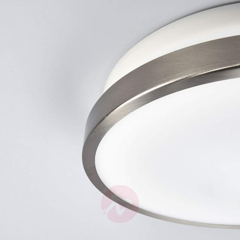 LED outdoor wall lamp Noxlite Circular with sensor - Wall Lights with Motion Sensor