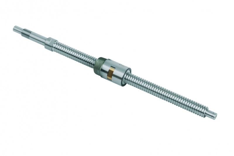 Miniatur-Kugelgewindetriebe - Miniatur-Kugelgewindetriebe, geschliffen,Flanschmutter/Einschraub-Zylindermutter