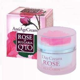 Crème anti age - à l'eau de rose