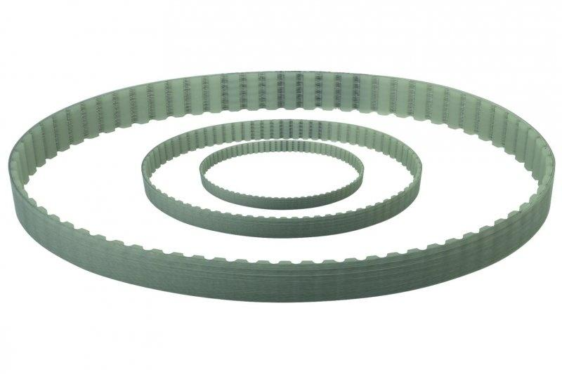 Toothed belt - Endless toothed belt with trapezoidal profile