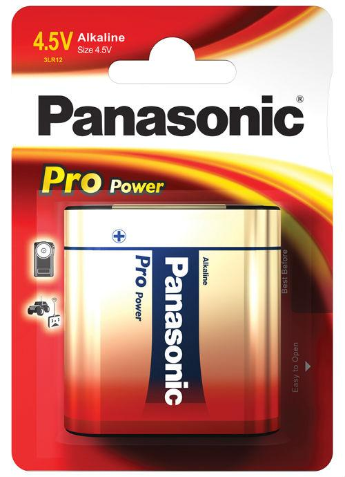 Batteria piatta 4,5V Pro Power 1 pz - 3LR12PPG/1BP | Blister da 1 pila Panasonic