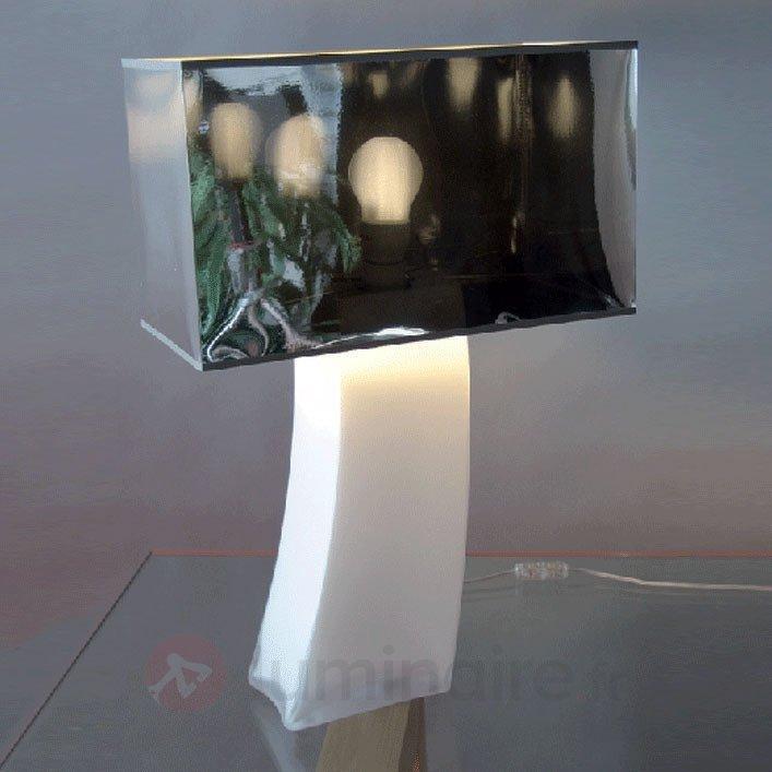 Impressionnante lampe à poser VANESSA pied opale - Lampes à poser pour rebord de fenêtre