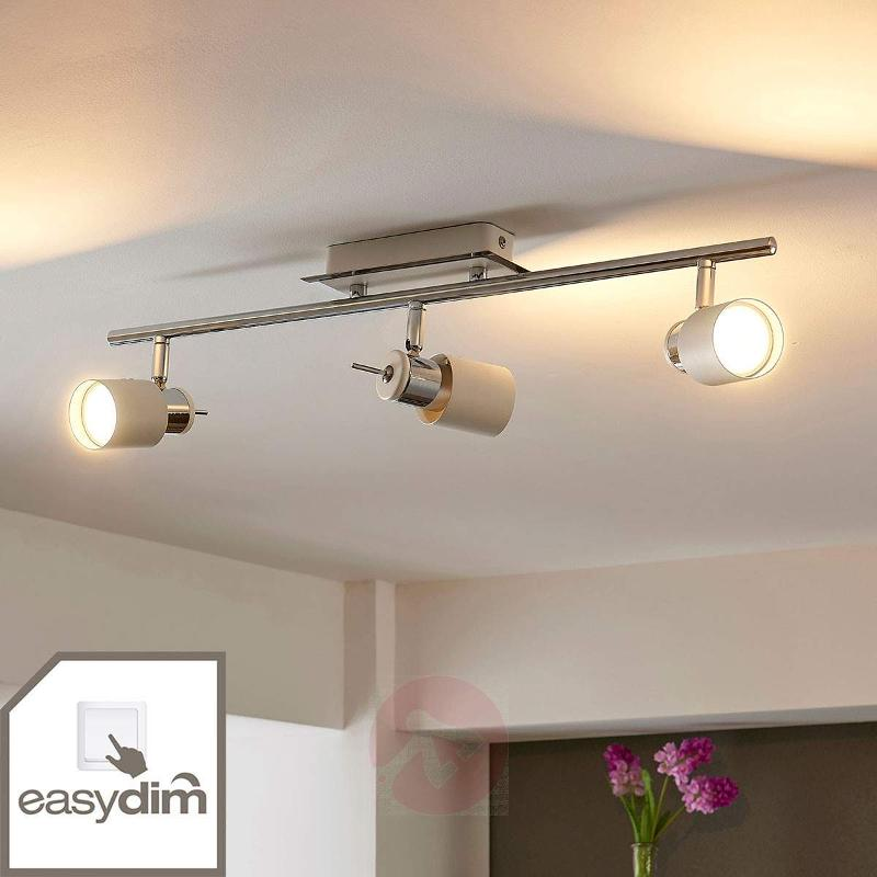 Easydim LED spotlight Maris, three-bulb - Spotlights