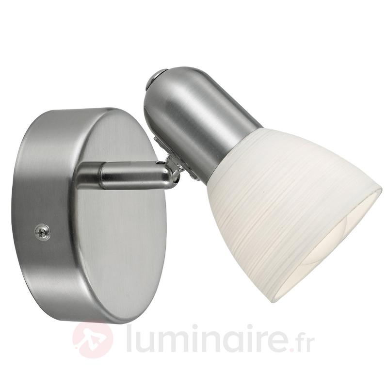 Applique raffinée Dake - Appliques chromées/nickel/inox