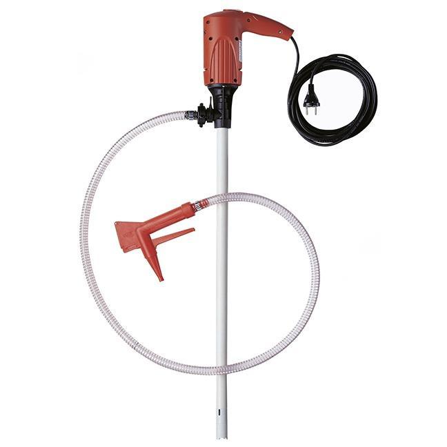 Pumpen-Set JUNIORFLUX für kleine Abfüllmengen - mit fest montiertem Motor