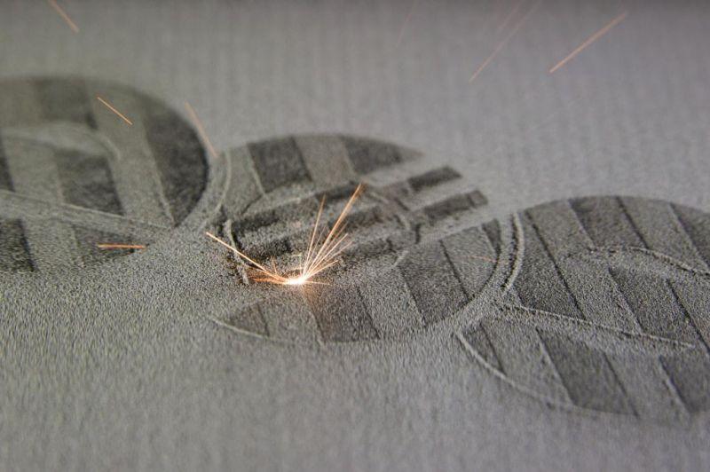 EOS M 100 - Idealer Einstieg in den industriellen 3D Druck von filigranen Metallteilen.