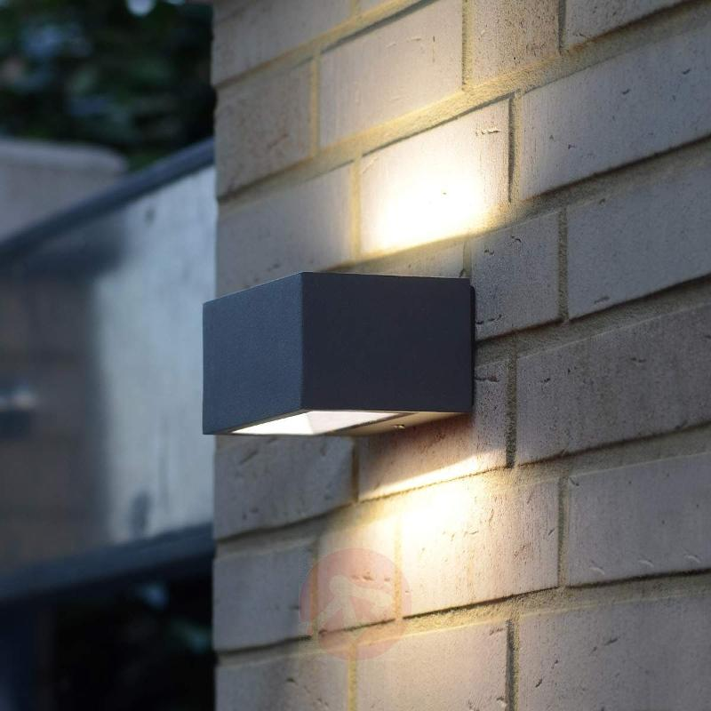 Modern Nomra IP54 LED exterior wall light Nomra - Outdoor Wall Lights