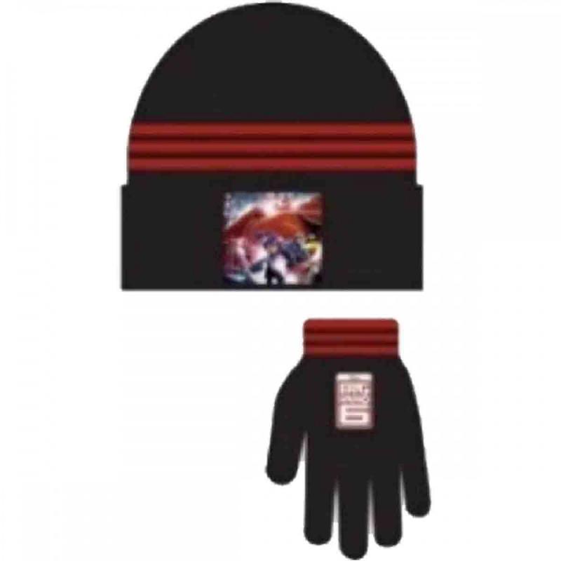 3x Bonnets et Gants Big Hero - Bonnet Gant Echarpe