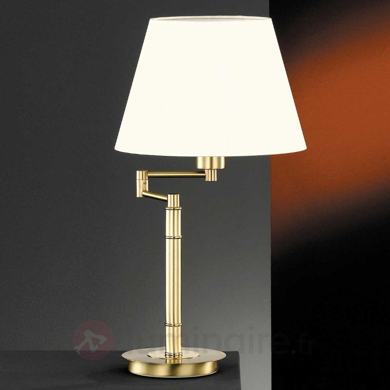 Lampe à poser Berlin laiton - Toutes les lampes à poser